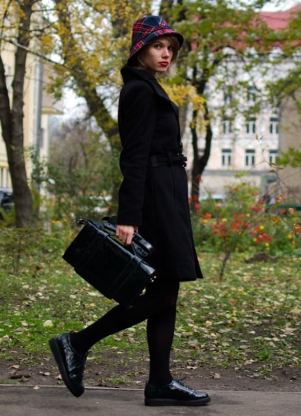 Лакированные женские ботинки с чем носить фото