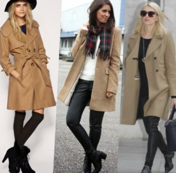 Модные пальто оверсайз : фото идеи