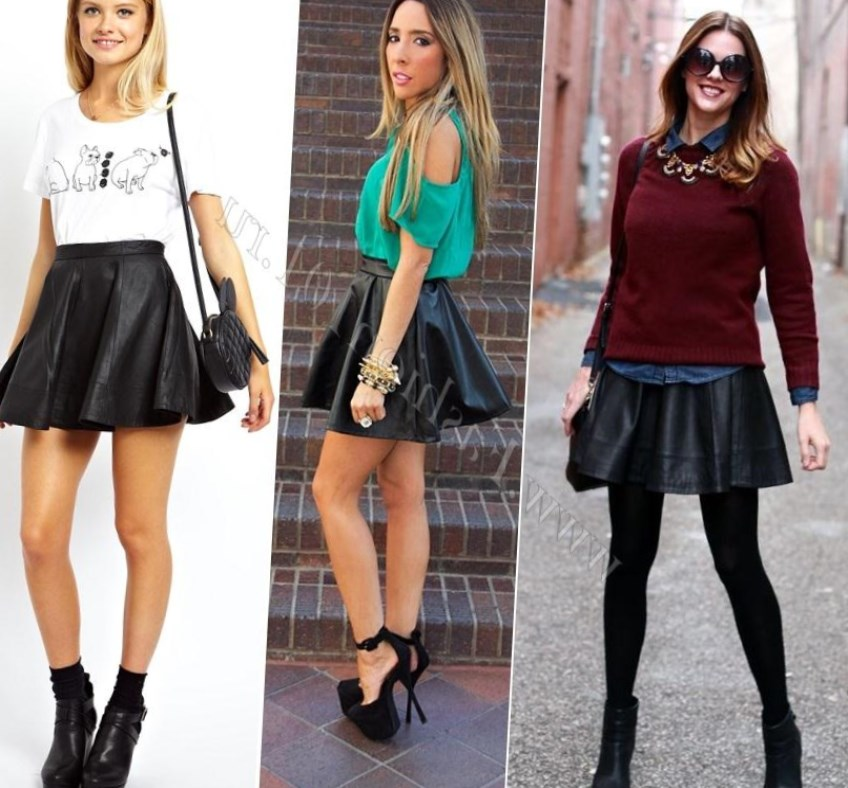 Мини – юбка. С чем носить кожаную юбку короткой длины? Дизайнеры рекомендуют юбку-карандаш носить только представительницам прекрасного пола, смело имеющие возможность продемонстрировать свои идеальные формы.