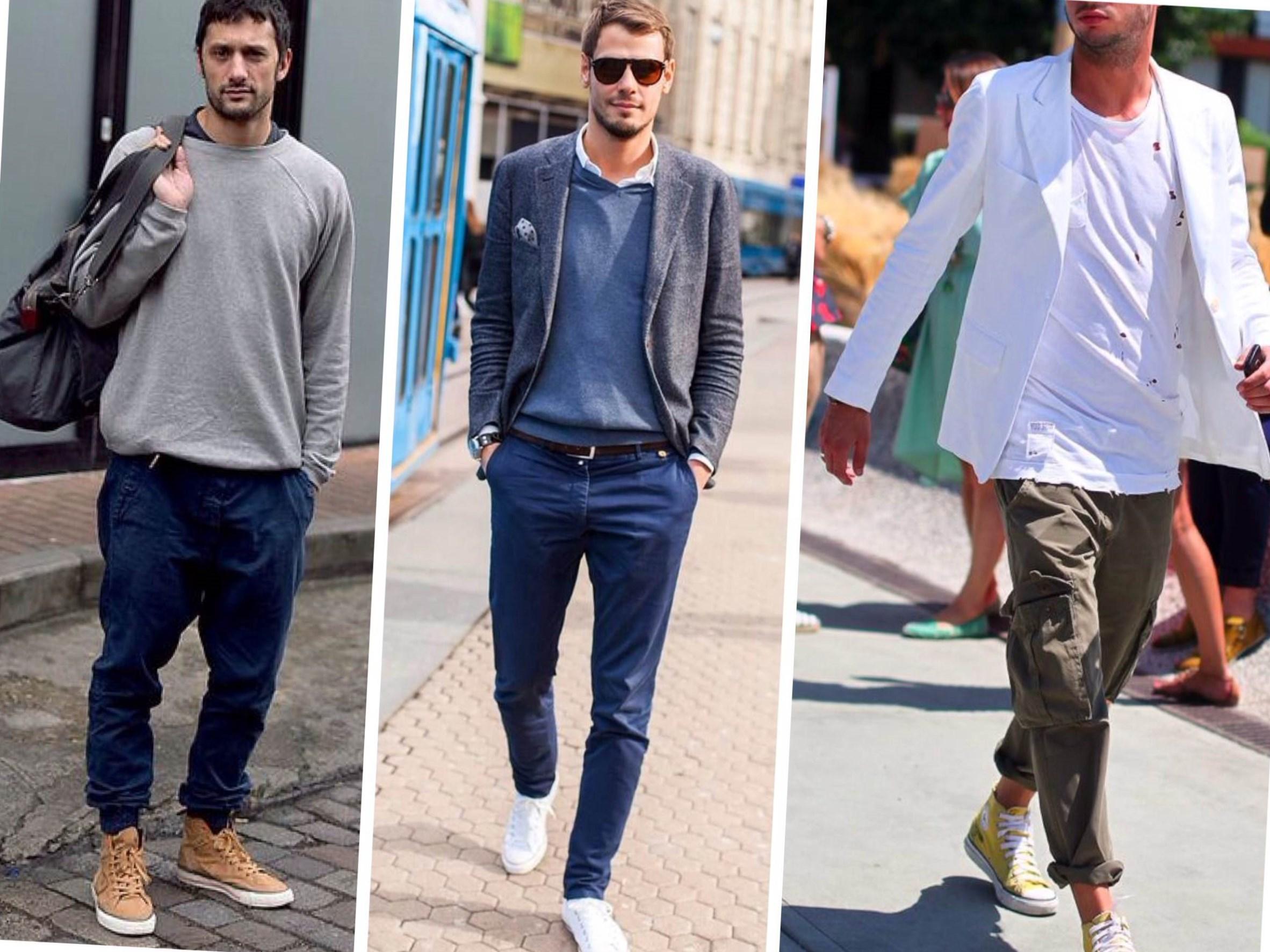 С чем носить кроссовки: 5 самых модных сочетаний сезона. Кроссовки давно покинули спортзалы и беговые дорожки, переместившись сначала на подиумы Недель моды, а затем и в гардеробы всех модниц. Кроссовки джинсы.